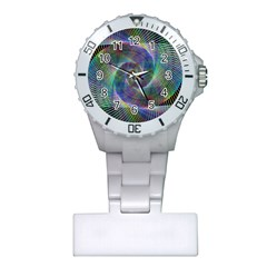 Psychedelic Spiral Nurses Watch by StuffOrSomething