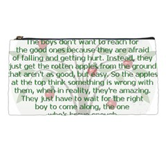 Girls Are Like Apples Pencil Case by TheWowFactor