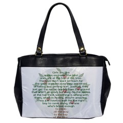 Girls Are Like Apples Oversize Office Handbag (one Side) by TheWowFactor