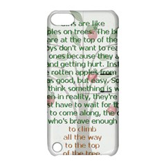 Girls Are Like Apples Apple Ipod Touch 5 Hardshell Case With Stand by TheWowFactor