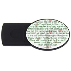 Appletree 2gb Usb Flash Drive (oval) by TheWowFactor