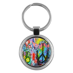 The Sixties Key Chain (round) by TheWowFactor