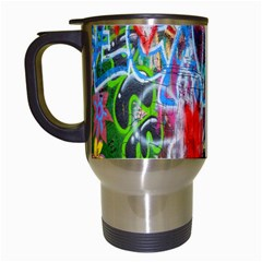 The Sixties Travel Mug (white) by TheWowFactor