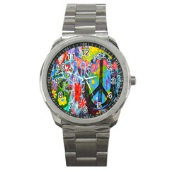 The Sixties Sport Metal Watch by TheWowFactor