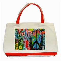The Sixties Classic Tote Bag (red) by TheWowFactor