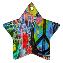 The Sixties Star Ornament (two Sides) by TheWowFactor
