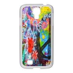 The Sixties Samsung Galaxy S4 I9500/ I9505 Case (white) by TheWowFactor