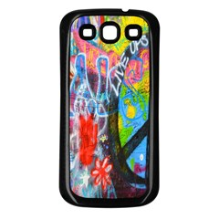 The Sixties Samsung Galaxy S3 Back Case (black) by TheWowFactor