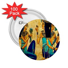 Egyptian Queens 2 25  Button (100 Pack) by TheWowFactor