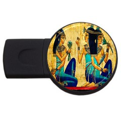 Egyptian Queens 2gb Usb Flash Drive (round)