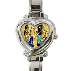 Egyptian Queens Heart Italian Charm Watch  by TheWowFactor