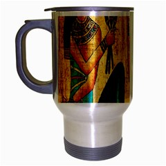Egyptian Queens Travel Mug (silver Gray) by TheWowFactor