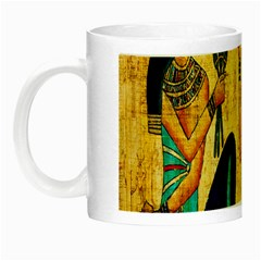 Egyptian Queens Glow In The Dark Mug by TheWowFactor