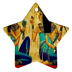 Egyptian Queens Star Ornament (two Sides) by TheWowFactor