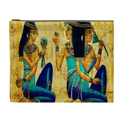 Egyptian Queens Cosmetic Bag (xl) by TheWowFactor