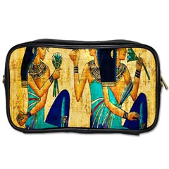 Egyptian Queens Travel Toiletry Bag (one Side) by TheWowFactor