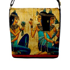 Egyptian Queens Flap Closure Messenger Bag (large) by TheWowFactor