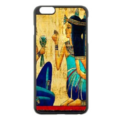 Egyptian Queens Apple Iphone 6 Plus Black Enamel Case by TheWowFactor