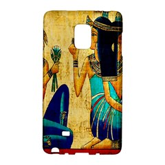 Egyptian Queens Samsung Galaxy Note Edge Hardshell Case by TheWowFactor