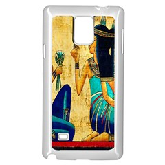 Egyptian Queens Samsung Galaxy Note 4 Case (white)