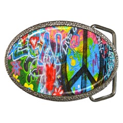 The Sixties Belt Buckle (oval) by TheWowFactor