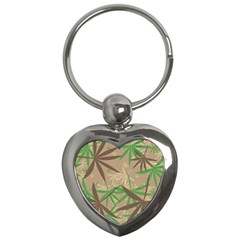 Leaves Key Chain (heart) by LalyLauraFLM