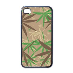 Leaves Apple Iphone 4 Case (black) by LalyLauraFLM