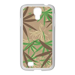 Leaves Samsung Galaxy S4 I9500/ I9505 Case (white) by LalyLauraFLM