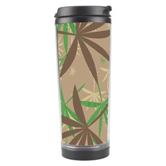 Leaves Travel Tumbler by LalyLauraFLM