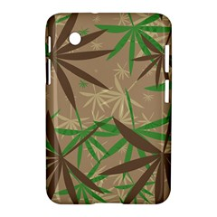 Leaves Samsung Galaxy Tab 2 (7 ) P3100 Hardshell Case  by LalyLauraFLM