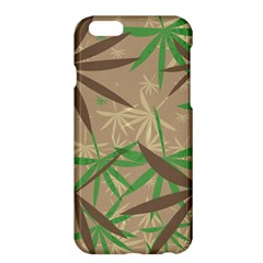 Leaves 	apple Iphone 6 Plus Hardshell Case by LalyLauraFLM
