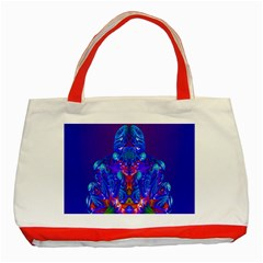 Insect Classic Tote Bag (red) by icarusismartdesigns