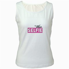 Selfie Whore Women s Tank Top (white)