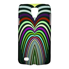 Symmetric Waves Samsung Galaxy S4 Active (i9295) Hardshell Case by LalyLauraFLM