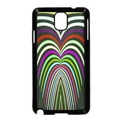 Symmetric Waves  Samsung Galaxy Note 3 Neo Hardshell Case by LalyLauraFLM