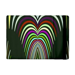 Symmetric Waves 	apple Ipad Mini 2 Flip Case by LalyLauraFLM