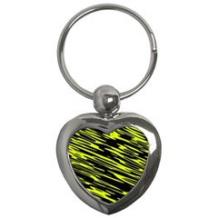 Camouflage Key Chain (heart) by LalyLauraFLM