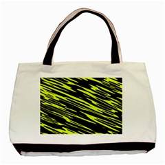 Camouflage Basic Tote Bag (two Sides) by LalyLauraFLM