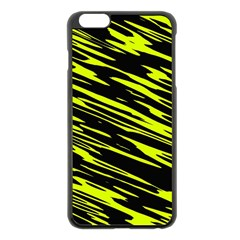 Camouflage Apple Iphone 6 Plus Black Enamel Case by LalyLauraFLM