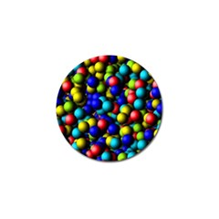 Colorful Balls Golf Ball Marker (4 Pack) by LalyLauraFLM