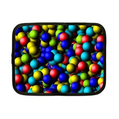 Colorful Balls Netbook Case (small) by LalyLauraFLM