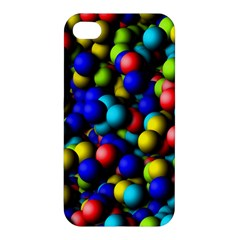 Colorful Balls Apple Iphone 4/4s Hardshell Case by LalyLauraFLM