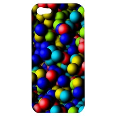 Colorful Balls Apple Iphone 5 Hardshell Case by LalyLauraFLM