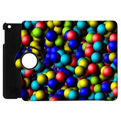 Colorful Balls Apple Ipad Mini Flip 360 Case by LalyLauraFLM