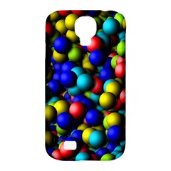 Colorful Balls Samsung Galaxy S4 Classic Hardshell Case (pc+silicone) by LalyLauraFLM