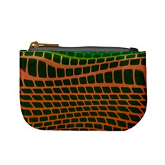 Distorted Rectangles Mini Coin Purse
