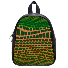 Distorted Rectangles School Bag (small)
