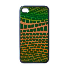 Distorted Rectangles Apple Iphone 4 Case (black) by LalyLauraFLM