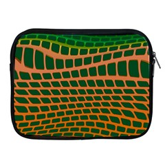 Distorted Rectangles Apple Ipad 2/3/4 Zipper Case by LalyLauraFLM