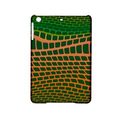 Distorted Rectangles Apple Ipad Mini 2 Hardshell Case by LalyLauraFLM